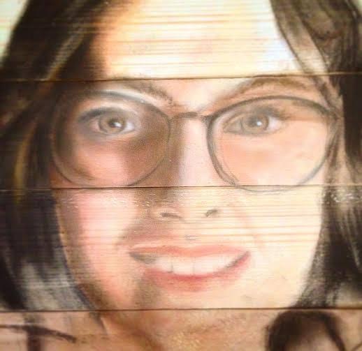 portre ahsap tablo ferhan dilek uluocak wood art