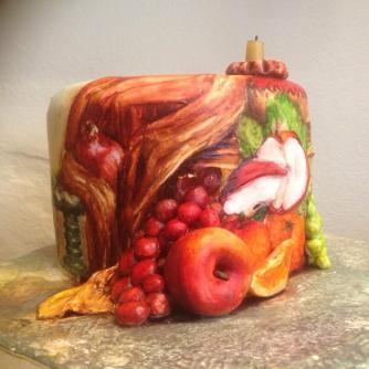 ferhan dilek uluocak 3d butik pasta resimleme dersi 3d cake paint