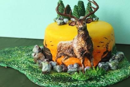 ferhan dilek uluocak 3d butik pasta resimleme dersi cake painting sugar paste