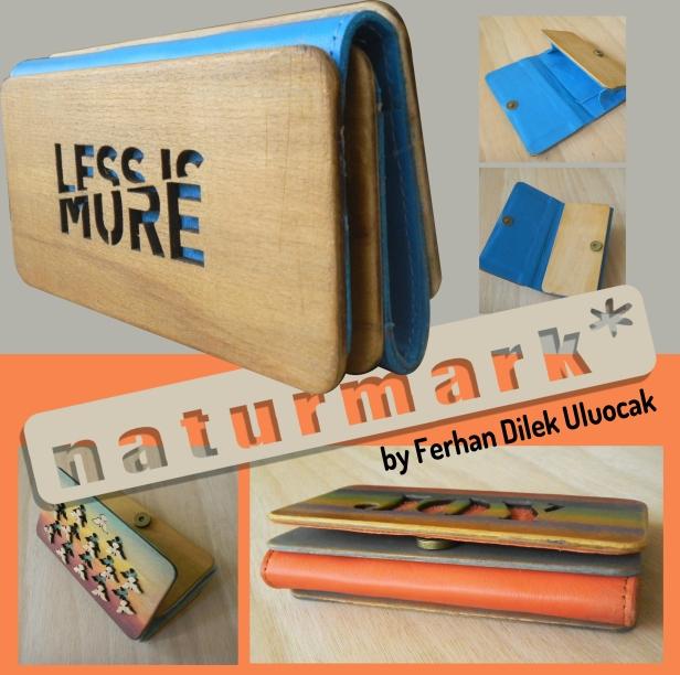 Yeni ürünüm Naturmark ahşap cüzdan tasarımlarım şimdi Bağdat caddesi RRM 'de
