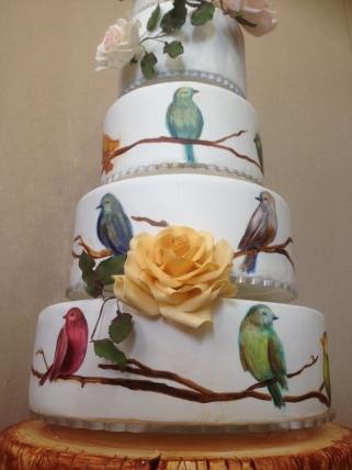 ibatech ferhan dilek uluocak dr paste boutique CAKE painting design butik pasta seker hamuru