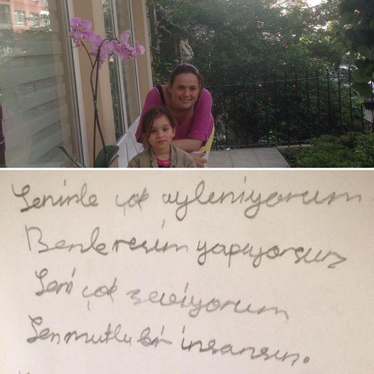 ferhan dilek uluocak fondant çocuk şiir resim öğretmeni