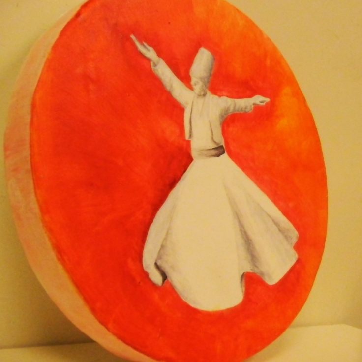 ferhan-dilek-uluocak-boutique-cake-design-painting-edible-art-pasta-boyama-kursu-dervish-mevlana-semazen-hand-painted-freehand