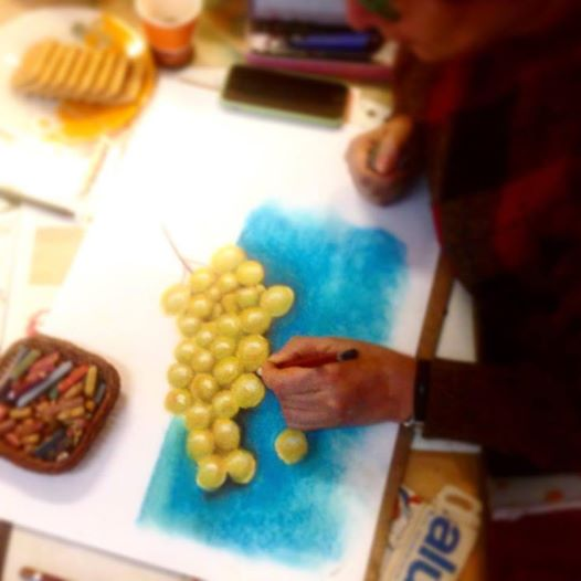 ferhan-dilek-uluocak-soft-pastel-toz-sketch-grape-drawing-painting-resim-kursu-sanat-art